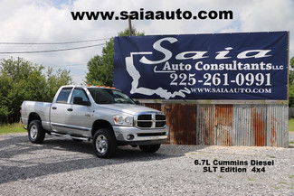 2007 Dodge Ram 2500 Quad Cab Slt 4wd 6.7 Diesel Buckets Tow Pkg  CLEAN CARFAX SERVICED DETAILED READY TO GEAUX | Baton Rouge , Louisiana | Saia Auto Consultants LLC-[ 2 ]