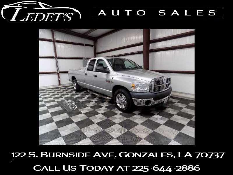 2007 Dodge Ram 2500 ST - Ledet's Auto Sales Gonzales_state_zip in Gonzales Louisiana