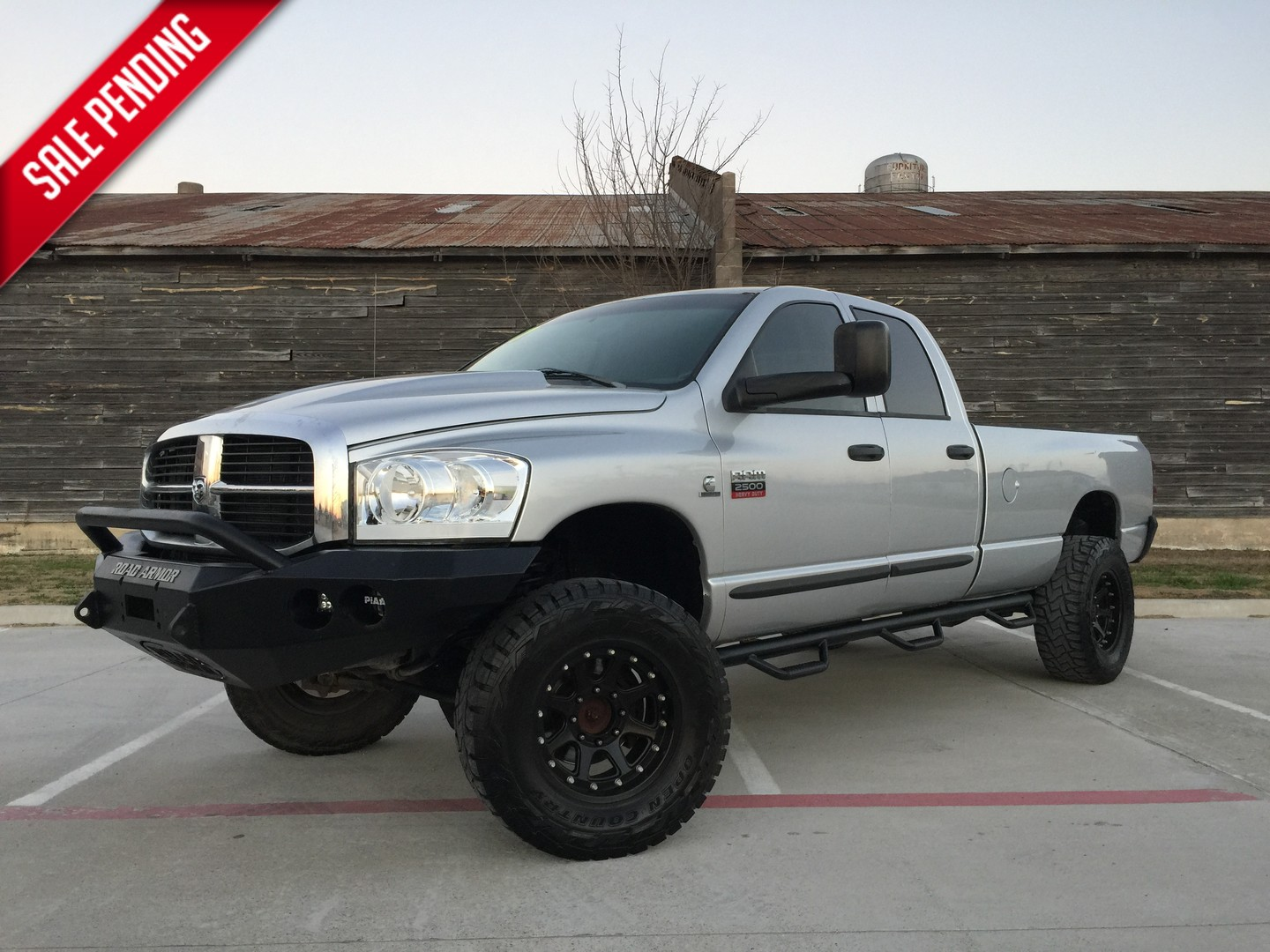 2007 dodge ram 2500 slt 59 cummins 4x4 city tx american truck source. Black Bedroom Furniture Sets. Home Design Ideas