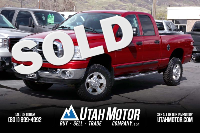 2007 Dodge Ram 2500 SLT | Orem, Utah | Utah Motor Company in Orem Utah