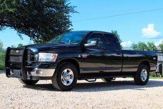 2007 Dodge Ram 2500 SLT Lone Star Quad Cab 2wd 5.9L Cummins Diesel 6 Speed Manual Sealy, Texas 5