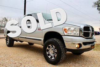 2007 Dodge Ram 2500 SLT Lone Star Quad Cab 4X4 5.9L Cummins Diesel 6 Speed Manual Sealy, Texas