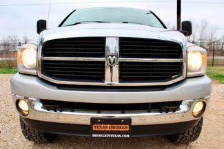2007 Dodge Ram 2500 SLT Lone Star Quad Cab 4X4 5.9L Cummins Diesel 6 Speed Manual Sealy, Texas 13