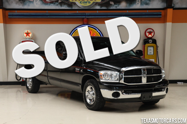 2007 Dodge Ram 3500 SLT This 2007 Dodge Ram 3500 SLT is in great shape with only 87 066 miles The