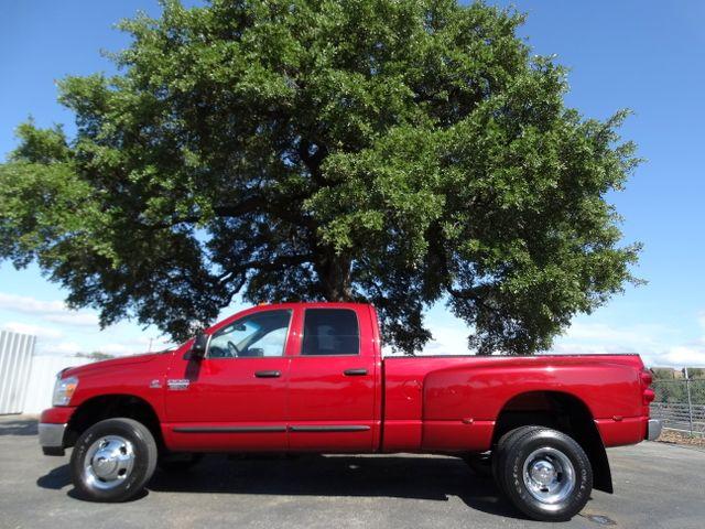 2007 Dodge Ram 3500 DRW Crew Cab SLT 5.9L Cummins Turbo Diesel 4X4 | American Auto Brokers San Antonio, TX in San Antonio Texas