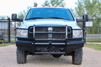 2007 Dodge Ram 3500 DRW SLT Quad Cab 4X4 6.7L Cummins Diesel 6 Speed Manual Liftmoore Crane Sealy, Texas 3