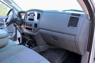 2007 Dodge Ram 3500 DRW SLT Quad Cab 4X4 6.7L Cummins Diesel 6 Speed Manual Liftmoore Crane Sealy, Texas 43