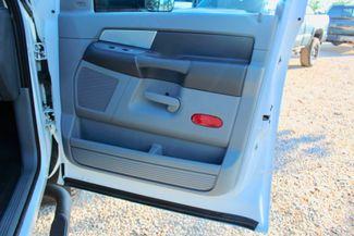 2007 Dodge Ram 3500 DRW SLT Quad Cab 4X4 6.7L Cummins Diesel 6 Speed Manual Liftmoore Crane Sealy, Texas 47