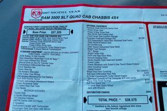 2007 Dodge Ram 3500 DRW SLT Quad Cab 4X4 6.7L Cummins Diesel 6 Speed Manual Liftmoore Crane Sealy, Texas 68