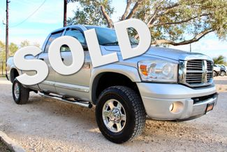 2007 Dodge Ram 3500 SRW Laramie Quad Cab 4X4 6.7L Cummins Diesel 6 Speed Manual Sealy, Texas