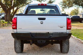 2007 Dodge Ram 3500 SRW Laramie Quad Cab 4X4 6.7L Cummins Diesel 6 Speed Manual Sealy, Texas 9