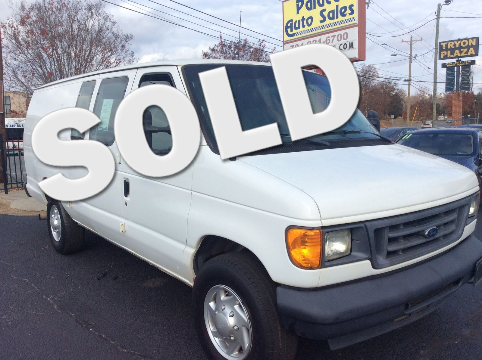 2007 Ford Econoline Cargo Van Commercial City NC Palace Auto Sales In Charlotte