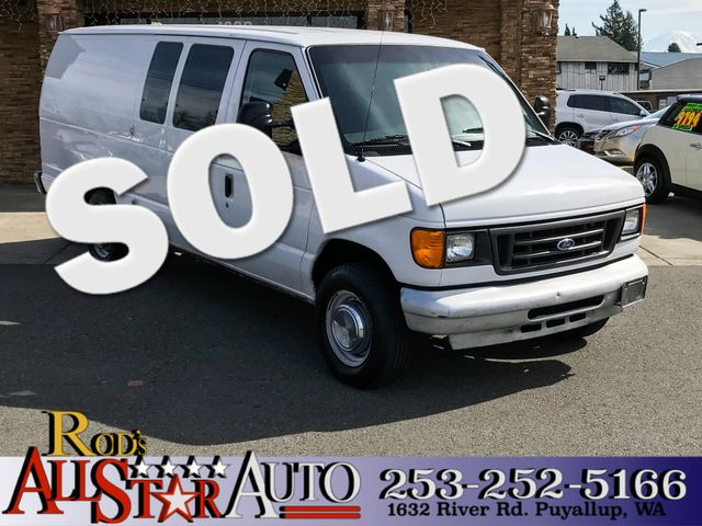 2007 Ford Econoline Cargo Van Diesel The CARFAX Buy Back Guarantee that comes with this vehicle me