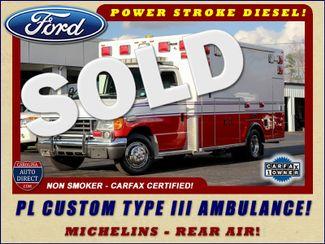 2007 Ford Econoline Commercial Cutaway E450 PL CUSTOM AMBULANCE TYPE III Mooresville , NC