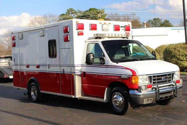2007 Ford Econoline Commercial Cutaway E450 PL CUSTOM AMBULANCE TYPE III Mooresville , NC 17