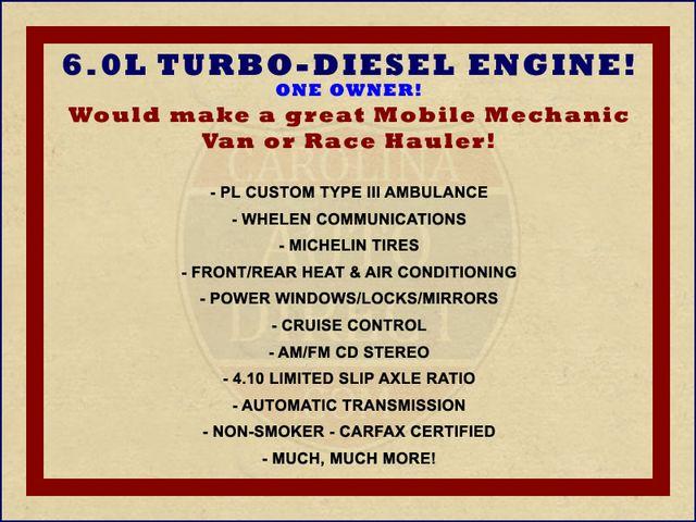 2007 Ford Econoline Commercial Cutaway E450 PL CUSTOM AMBULANCE TYPE III Mooresville , NC 1