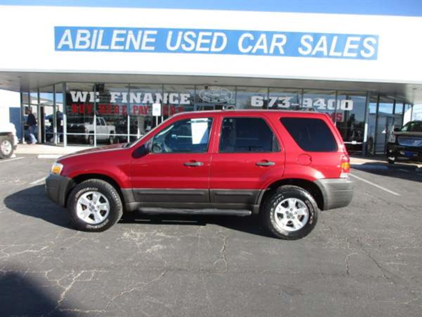 2007 ford escape xlt sport abilene tx abilene used car sales. Black Bedroom Furniture Sets. Home Design Ideas