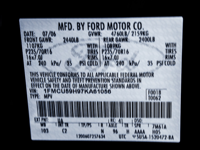 2007 Ford Escape Hybrid Burbank, CA 28