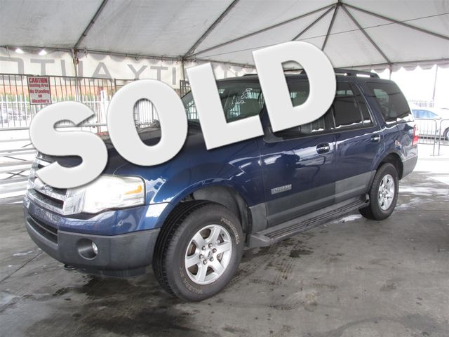 2007 Ford Expedition XLT This particular Vehicles true mileage is unknown TMU Please call or e