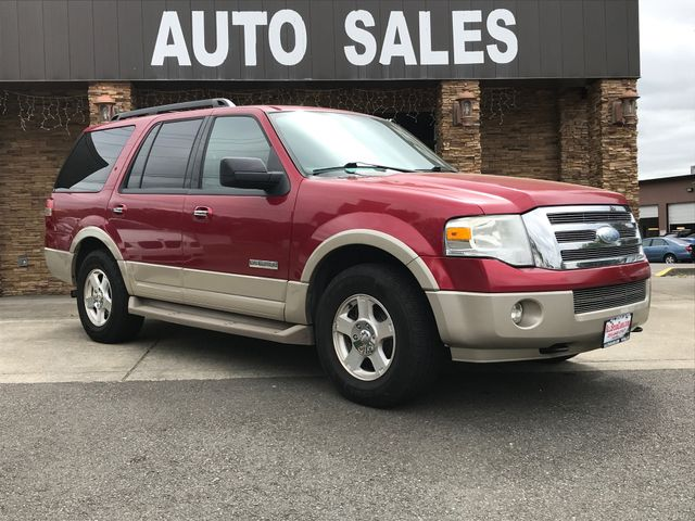 2007 Ford Expedition Eddie Bauer Red 2007 Ford Expedition Eddie Bauer 4WD 6-Speed Automatic with O