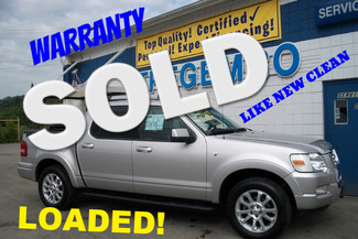 2007 Ford Explorer Sport Trac 4wd Limited Loaded Bentleyville, Pennsylvania