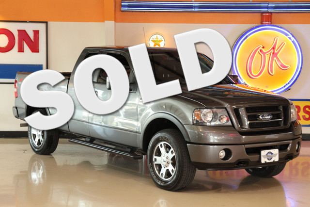 2007 Ford F-150 FX4 This Carfax 1-Owner 2007 Ford F-150 FX4 is in great shape with only 90 876 mil