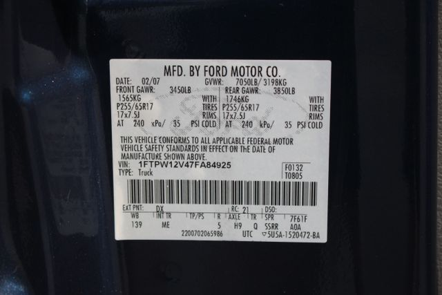2007 Ford F-150 XLT Mooresville , NC 32