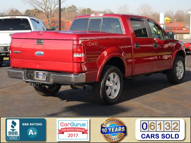 "2007 Ford F-150 Lariat SuperCrew 4x4-20"" WHEELS-HARD TONNEAU! Mooresville , NC 2"