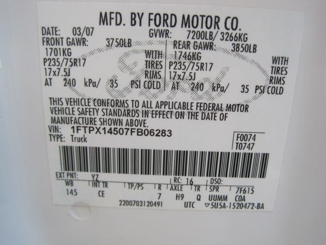 2007 Ford F150 Supercab 4x4 XL Utility, 1 Owner, Service History, Lo Miles Plano, Texas 34