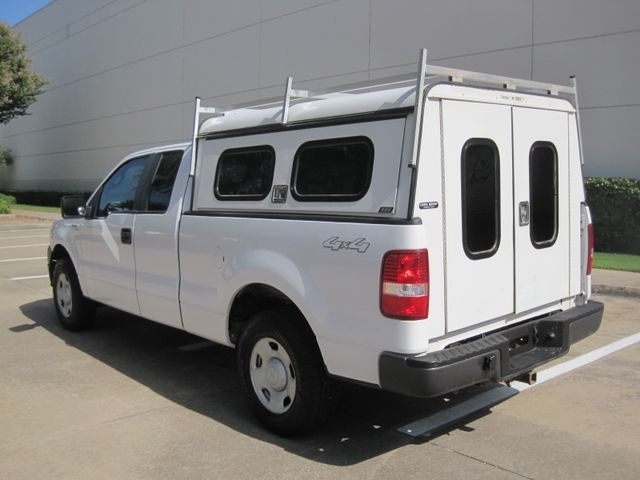 2007 Ford F150 Supercab 4x4 XL Utility, 1 Owner, Service History, Lo Miles Plano, Texas 7