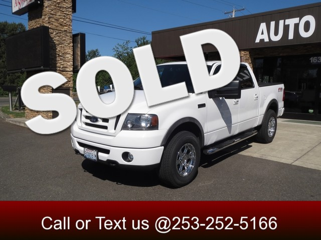 2007 Ford F-150 FX4 4WD The CARFAX Buy Back Guarantee that comes with this vehicle means that you