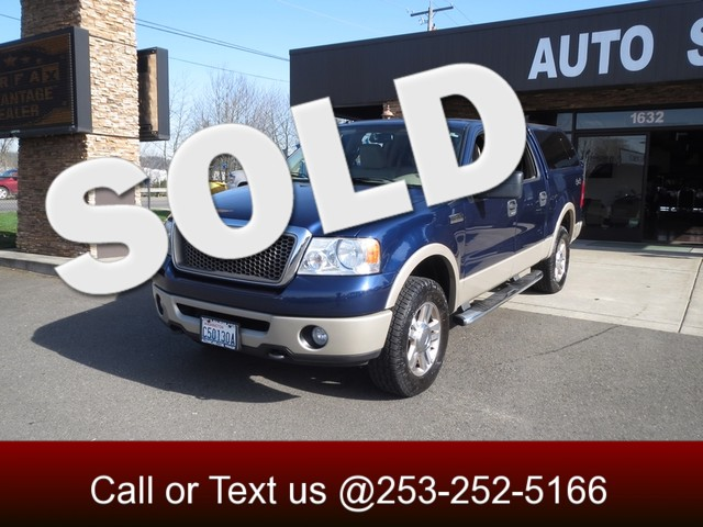 2007 Ford F-150 Lariat 4WD The CARFAX Buy Back Guarantee that comes with this vehicle means that y