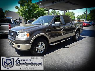 2007 Ford F150 Super Crew Lariat 4x4 Chico, CA 2