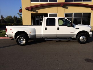 2007 Ford F350 Powerstroke Diesel 4x4 Bulletproof EGR XLT Dually Crew Cab 52k 6-Speed Manual Trans in Livermore, California