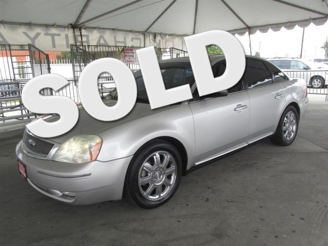 2007 Ford Five Hundred SEL Please call or e-mail to check availability All of our vehicles are