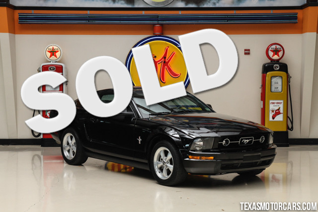 2007 Ford Mustang Premium This Clean Carfax 2007 Ford Mustang Premium is in great shape with only 3