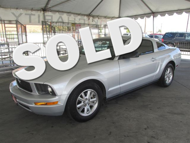 2007 Ford Mustang Deluxe This particular vehicle has a SALVAGE title Please call or email to chec