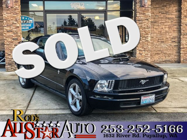 2007 Ford Mustang Deluxe The CARFAX Buy Back Guarantee that comes with this vehicle means that you