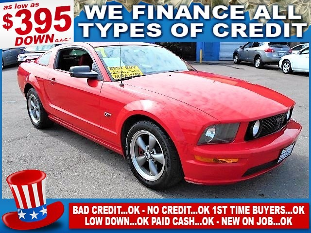 2007 FORD MUSTANG GT Limited warranty included to assure your worry-free purchase AutoCheck repor