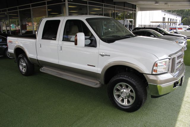 2007 Ford Super Duty F-250 King Ranch Crew Cab 4x4 FX4 - HEATED LEATHER! Mooresville , NC 23
