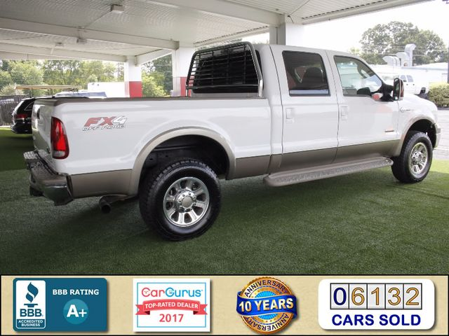 2007 Ford Super Duty F-250 King Ranch Crew Cab 4x4 FX4 - HEATED LEATHER! Mooresville , NC 2