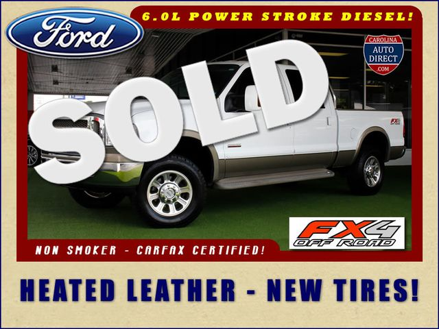 2007 Ford Super Duty F-250 King Ranch Crew Cab 4x4 FX4 - HEATED LEATHER! Mooresville , NC 0