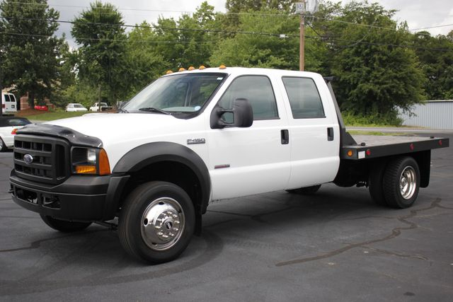2007 Ford Super Duty F-450 DRW Crew Cab RWD - W/MANNING FLATBED Mooresville , NC 21