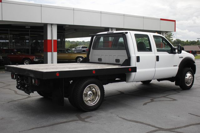 2007 Ford Super Duty F-450 DRW Crew Cab RWD - W/MANNING FLATBED Mooresville , NC 22