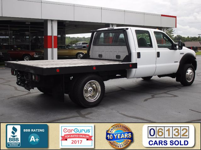 2007 Ford Super Duty F-450 DRW Crew Cab RWD - W/MANNING FLATBED Mooresville , NC 2