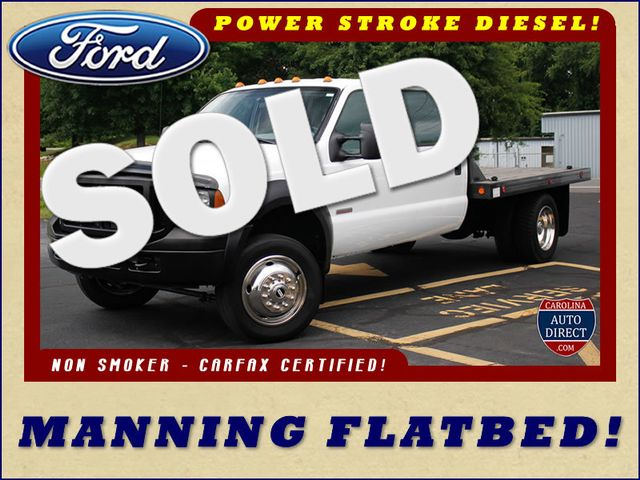 2007 Ford Super Duty F-450 DRW Crew Cab RWD - W/MANNING FLATBED Mooresville , NC 0