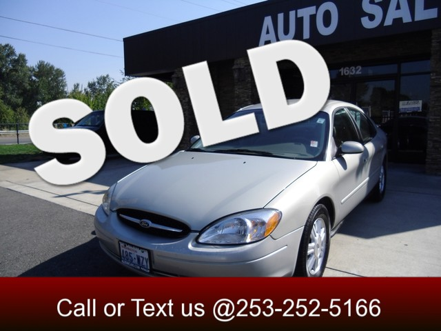 2007 Ford Taurus SEL Our 2007 Taurus SEL is a very very nice car This large 4-door sedan does eve