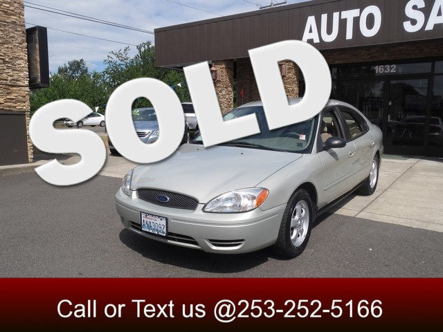 2007 Ford Taurus SE The CARFAX Buy Back Guarantee that comes with this vehicle means that you can