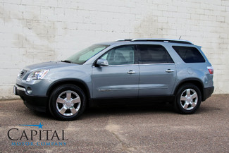 2007 GMC Acadia SLT AWD with Navigation, DVD Entertainment, Dual Panel Moonroof, Heated Seats & Tow Pkg in Eau Claire