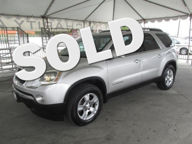 2007 GMC Acadia SLT This particular Vehicles true mileage is unknown TMU Please call or e-mail